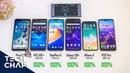 Galaxy S9 vs OnePlus 6 vs P20 Pro vs HTC U12 vs iPhone X - Battery Test! | The Tech Chap