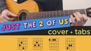 Just the Two of Us - Cover Lesson Fingerstyle Tutorial Tab