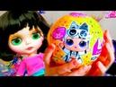 Настя LOL и кукла Блайз Шарик LOL CONFETTI Nastushik Play Мультик про куклы лол Распаковка Кукол L
