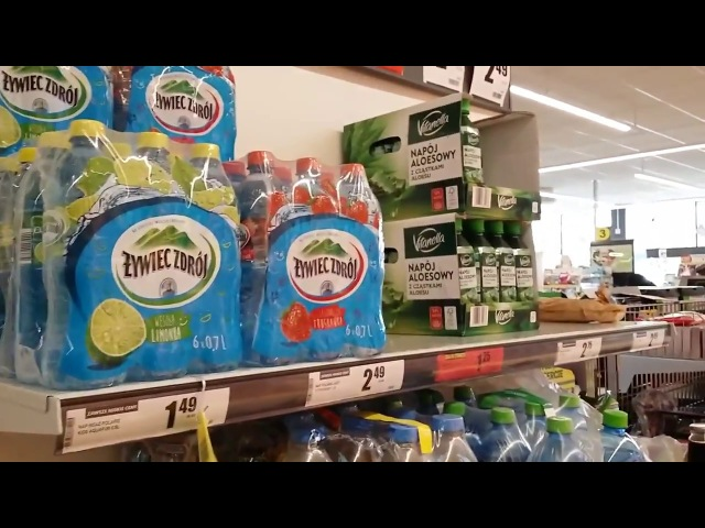 Цены в Польше в магазине, супермаркете на продукты