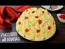 TORTA ZUCCOTTO ALL'ANANAS SENZA COTTURA Ricetta Facile No Bake Pineapple Rose Cake Easy Recipe