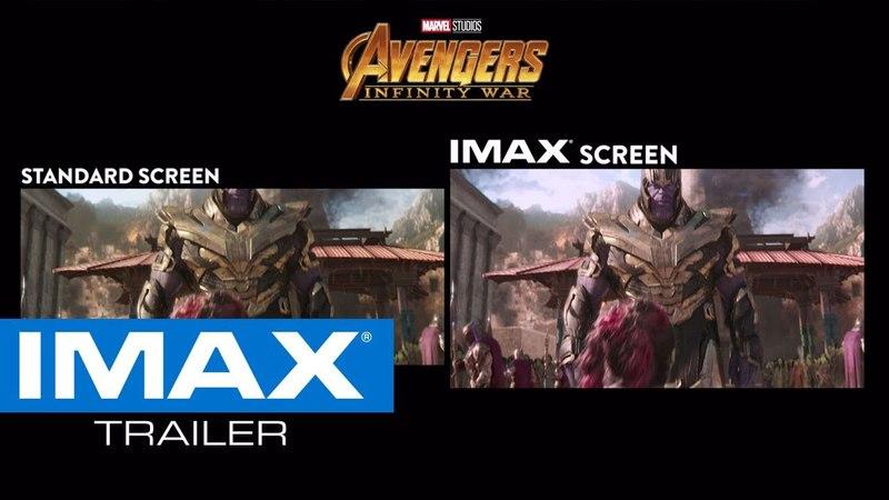 Avengers: Infinity War IMAX® Screen vs. Standard Screen