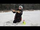 Бешеный клев щуки в глухозимье. Контрольная зимняя рыбалка и Щарка. Рыбалка в Беларуси.