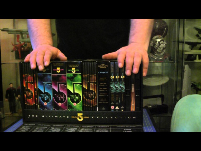 THE ULTIMATE BABYLON 5 DVD COLLECTION BOX SET SERIES 1 TO 5