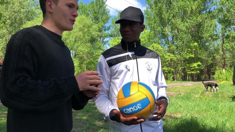 странное интервью о странном виде спорта - Кану Поло ))