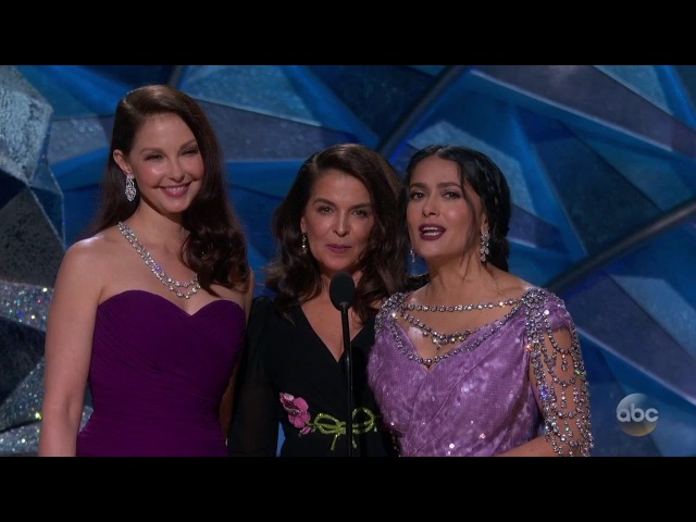 Ashley Judd Annabella Sciorra Salma Hayek Introduce New Voices
