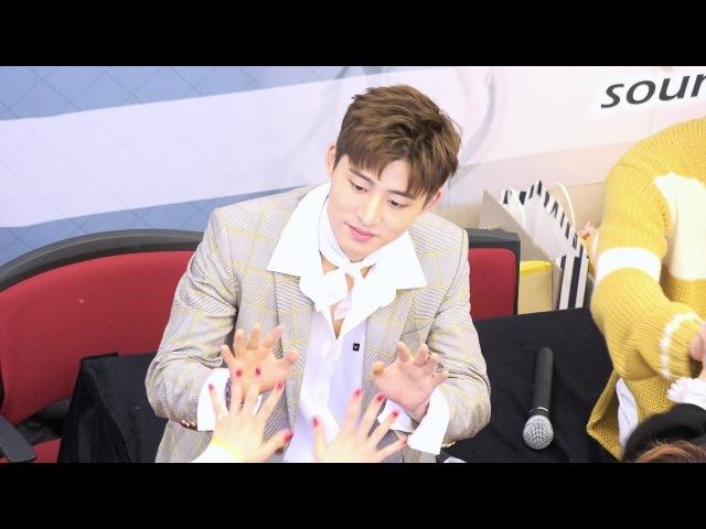 20180225 iKON (아이콘) 분당 팬사인회 (Fan-Signing Event in Bundang) B.I @AK플라자 분당 1층 중앙광장