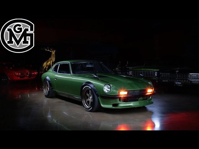 In Depth With Fast N Loud's 1975 Datsun 280Z GAS MONKEY GARAGE AutoFocus Ep002
