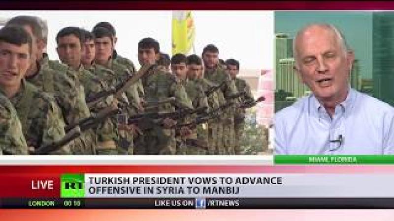 Erdogan vows to advance offensive in Syria to Manbij