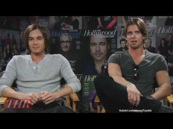 Tyler Blackburn Drew Van Acker Hollywood Reporter Interview