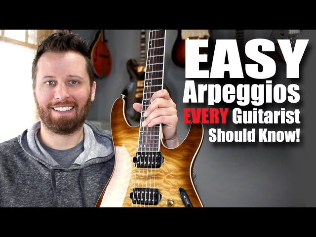 Easy Arpeggios Every Guitarist Should Know!