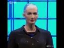Видео разум робот похожа на человека