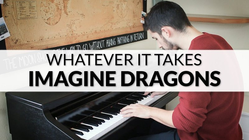 Imagine Dragons - Whatever It Takes | Piano Cover