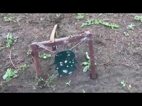 Стрельба в гонг открытый прицел 25-150 метров 5.45х39 и тг2 366ткм