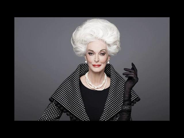 Самая пожилая модель в мире 86-летняя Делль'Орефиче, Кармен.