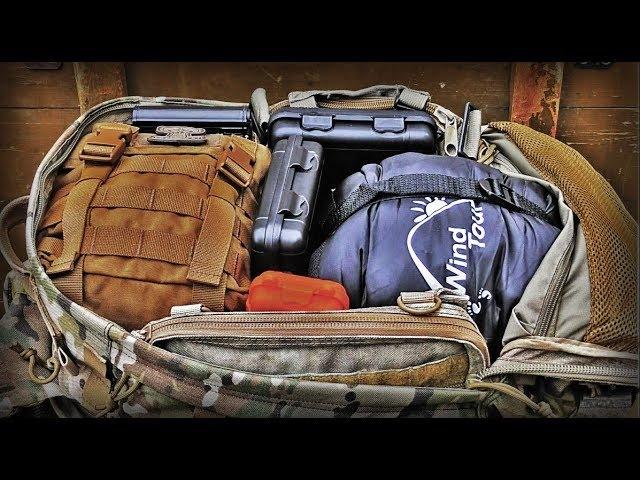 Тревожный чемодан/Компрессионный мешок/Гидратор AONIJIE/Get Home Bag