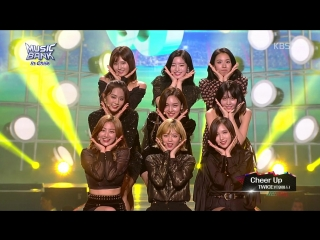 180411 TWICE - Likey, Cheer Up, TT @ Music Bank in Chile
