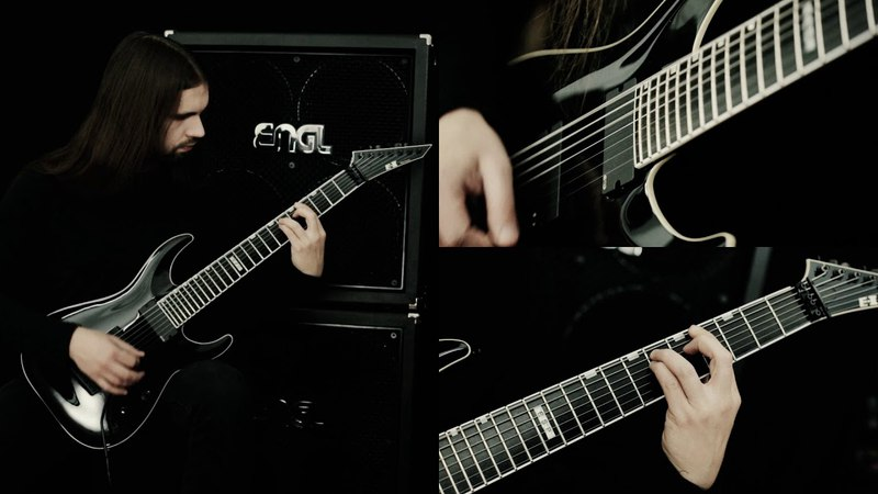OBSCURA | Ode to the Sun - Official Guitar Playthrough by Steffen Kummerer