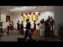 Цветы классному руководителю Последний звонок СОШ №1 11 класс 23 05 2018 г