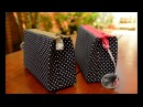 Reciclagem: NECESSAIRE feita com CAIXA de LEITE