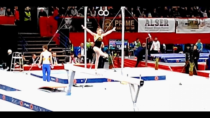 Дарья Овсянникова / Daria Ovsyannikova / Darya Ausianikava Ukraine International Cup gymnastics