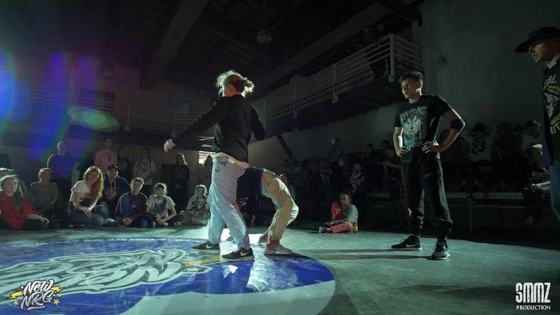 Ready for War vs Bboy Rud Bboy Squiz vs Bboy Резкий Борька (1/2 FINAL) || NEW NRG 2018