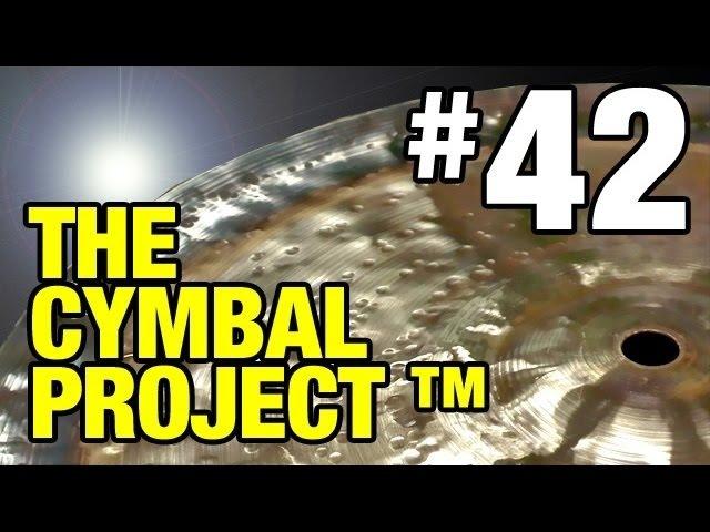 The Cymbal Project™ Part 42 - Sabian B8 Crash to China conversion - Lance Campeau