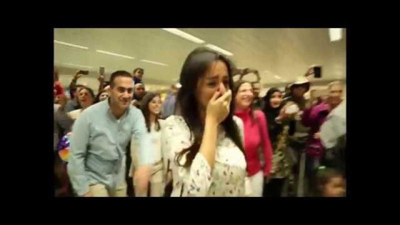 ФЛЕШМОБ в Аэропорту для ДВОИХ ВЛЮБЛЕННЫХ Вот так делают предложение PK Funny