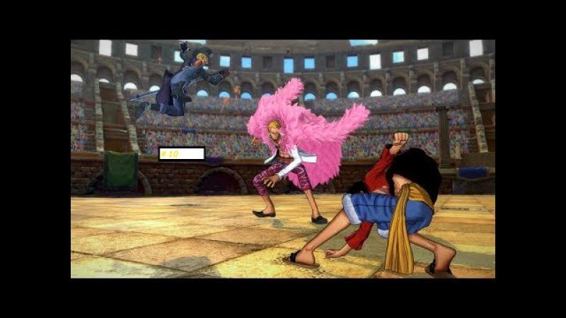 Прохождение One Piece Burning Blood 10 *Луччи и Тесоро* (16).