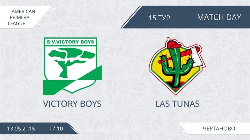 AFL18. America. Primera. Day 15. Victory Boys - Las Tunas