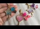 UV ℜesin tutorial Glitter wand charms