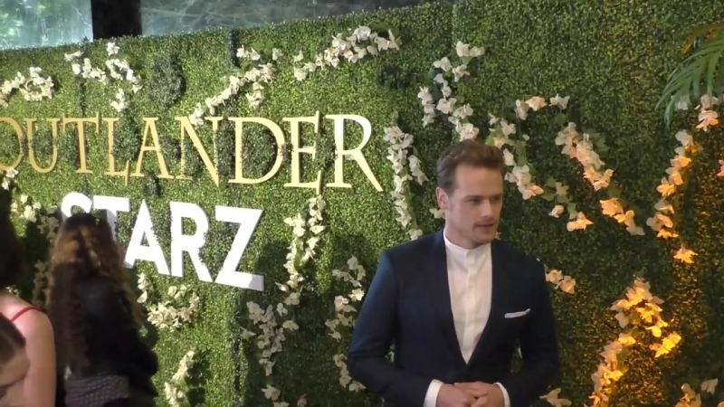 Sam Heughan at the STARZ Outlander FYC Event at Linwood Dunn Theater in Hollywood