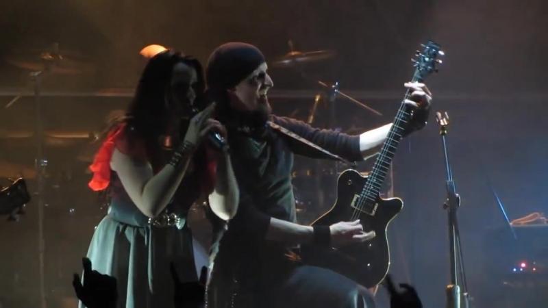 Xandria - Blood On My Hands (2012) (Fan Live Video)