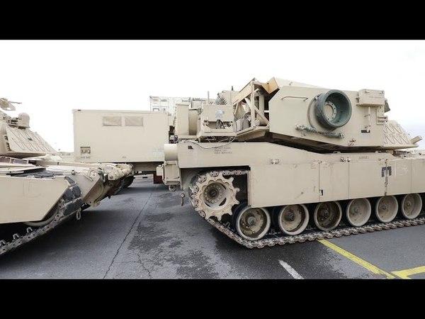 Une brigade de lUS Army transite par la Belgique pour renforcer lOtan a lest (2)