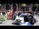 Съемки первых сцен Аны Бренды и Хулиана Хиля для теленовеллы Офис