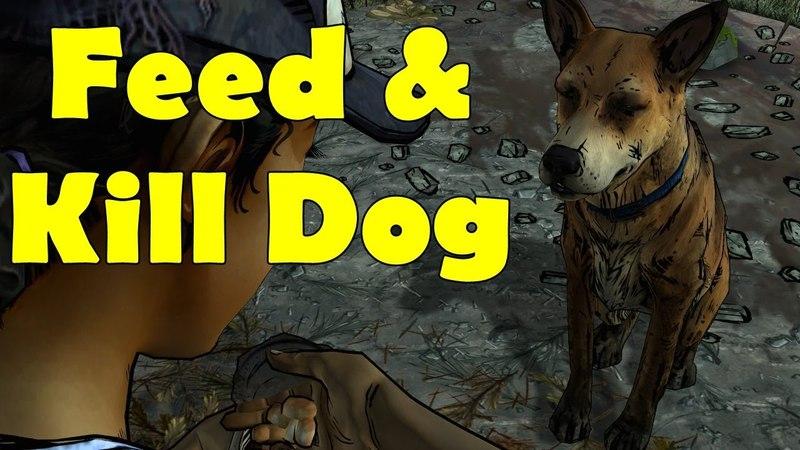 The Walking Dead Season 2 Episode 1 Feed Kill Dog