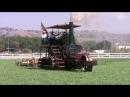 Паровой гусеничный трактор 1916 года