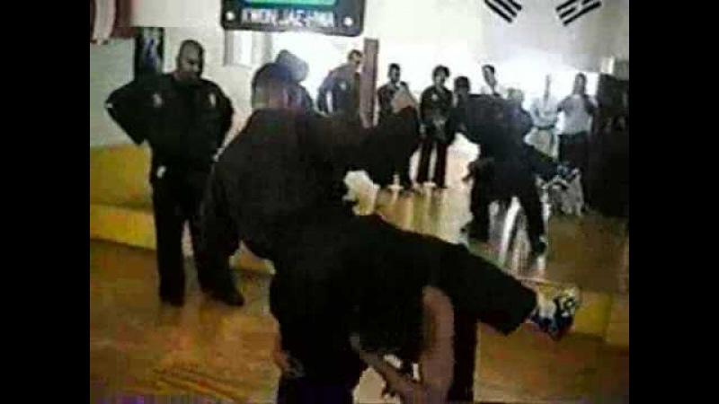 GM Al J Dacasco Wun Hop Kuen Do 1998 Seminar @ Rincon, Puerto Rico 11