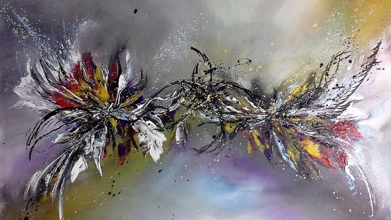 Déjà vu - Einfach Malen - Easy Painting - Abstract