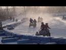 Гонка на треке на мотоциклах с колясками 16.12.2012г