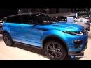 2018 Range Rover Evoque Landmark Edition - Exterior Interior Walkaround - 2018 New York Auto Show