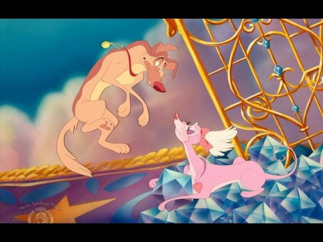 Видео к мультфильму «Все псы попадают в рай» (1989): Трейлер (русский язык)