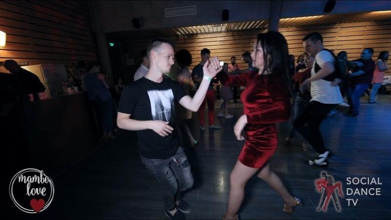 Sergey Timofeev Jay Lee - Salsa social dancing | Mambo.love 2018