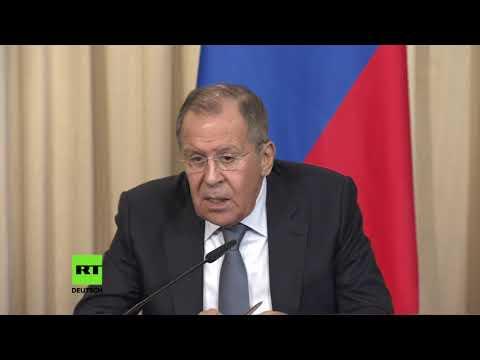 Lawrow: Wir haben unwiderlegbare Beweise – Giftgasangriff in Duma von Geheimdiensten inszeniert