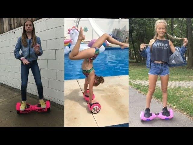 Танцы и трюки на гироборде Smart Balance