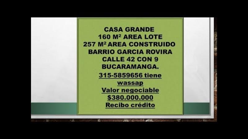 Venta casa centro bucaramanga para negocio