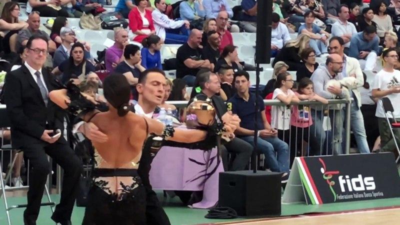 WDSF Ravenna Open 2018 PROFESSIONAL DIVISION VALZER LENTO