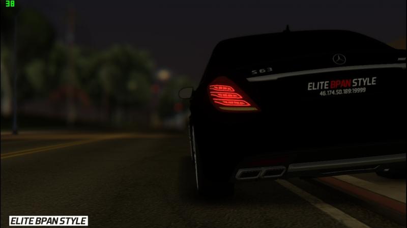 ELITE BPAN STYLE Обзор Mercedes Benz S63 AMG