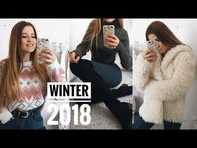 ЧТО НОСИТЬ ЗИМОЙ 2018?❤️ Мои ПОКУПКИ на Зиму 2017/2018💫