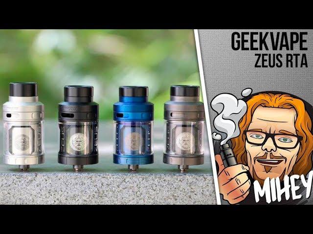 GeekVape Zeus RTA 4ml. Односпиральный Громовержец.